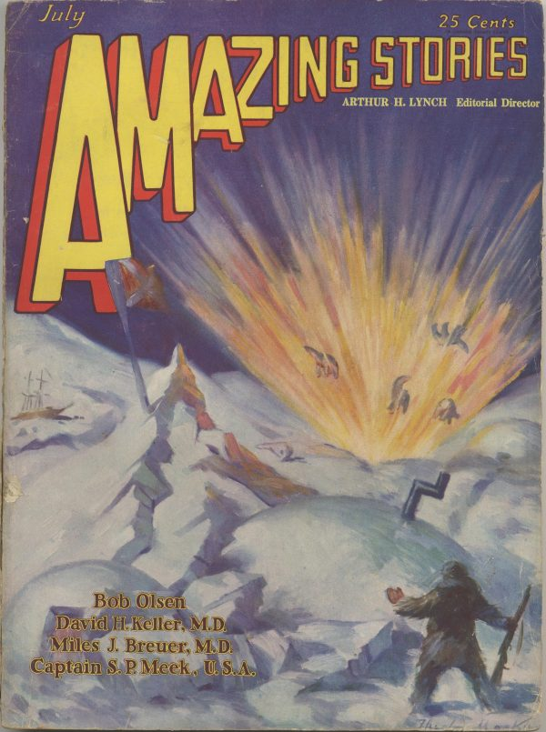Amazing Stories, July 1929