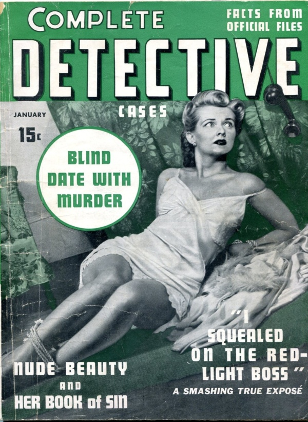 Complete Detective Cases January 1941