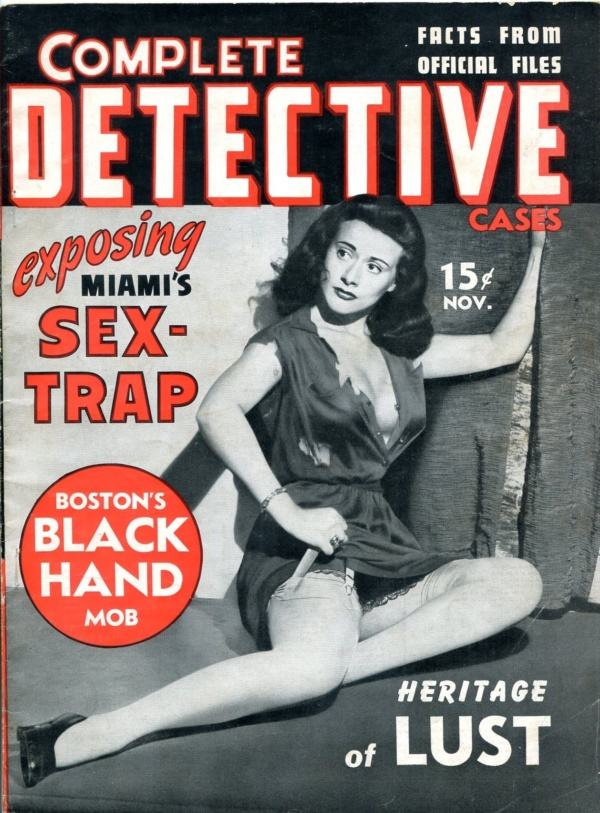 Complete Detective Cases November 1941