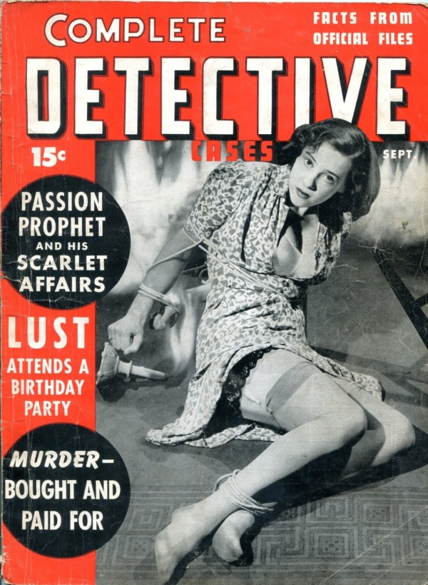 Complete Detective Cases September 1941