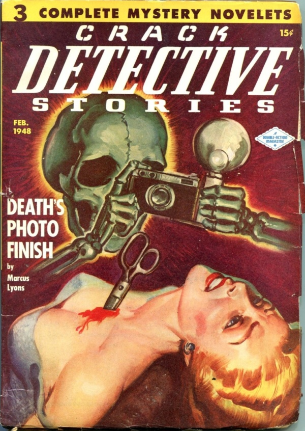 Crack Detective Stories February 1948