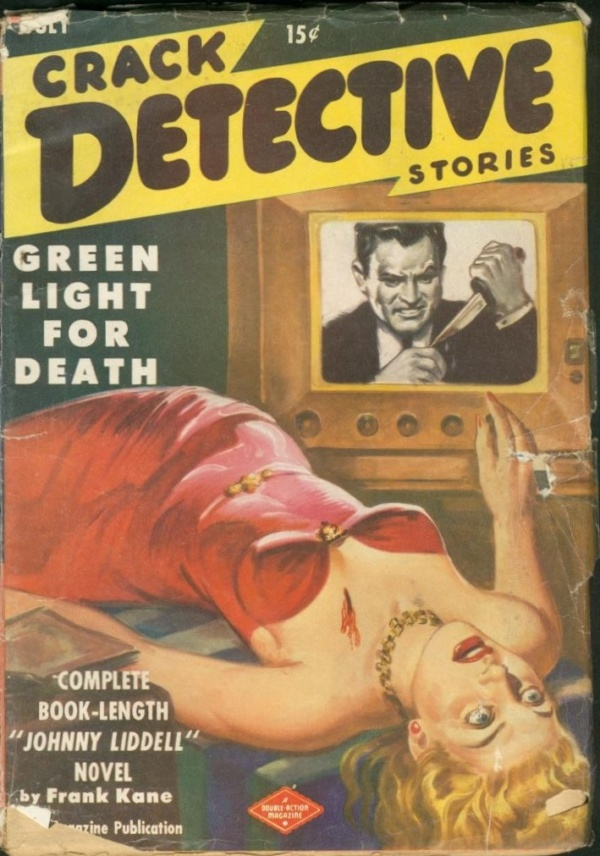Crack Detective Stories July 1949