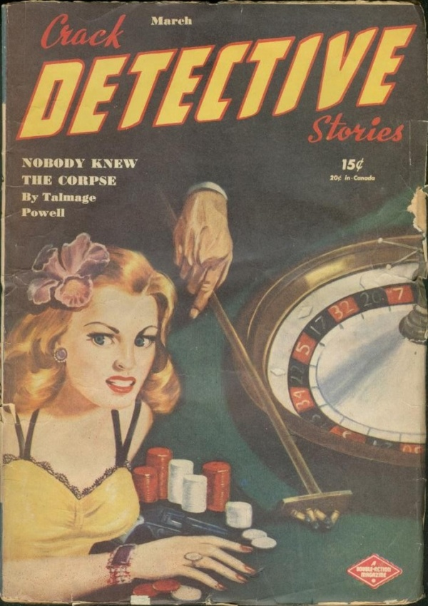 Crack Detective Stories March 1946