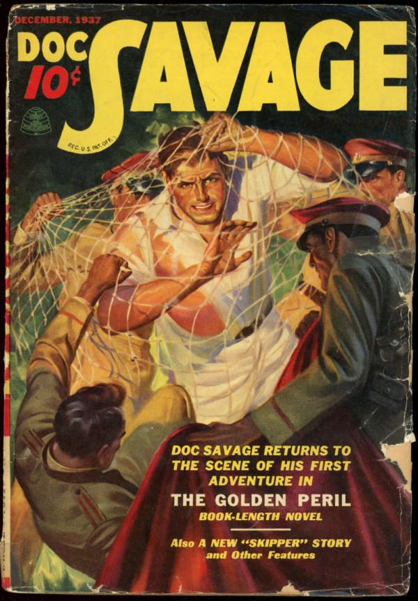 DOC SAVAGE. December, 1937