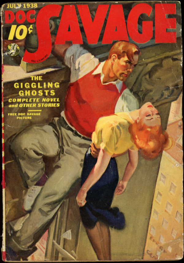 DOC SAVAGE. July, 1938