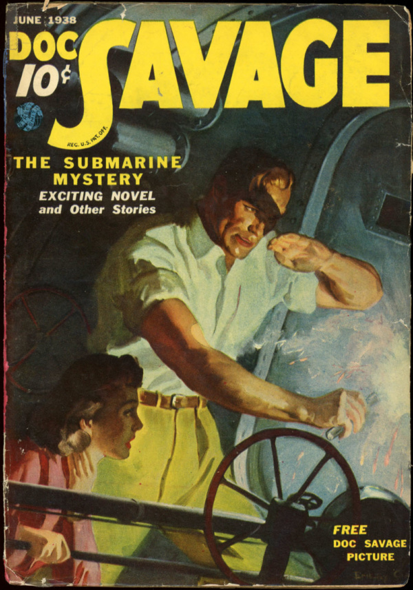 DOC SAVAGE. June, 1938