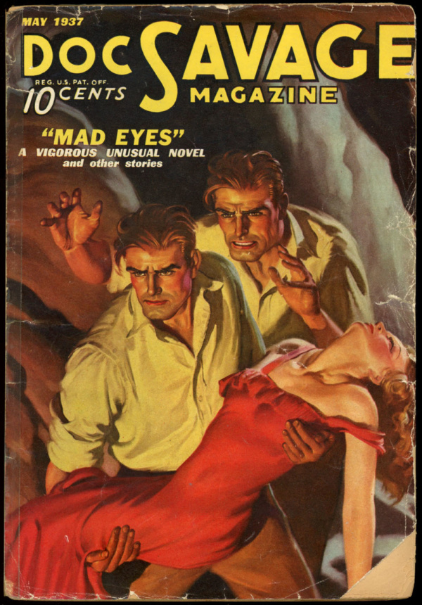 DOC SAVAGE. May, 1937