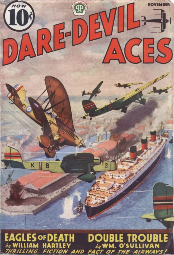 Dare-Devil Aces November 1937