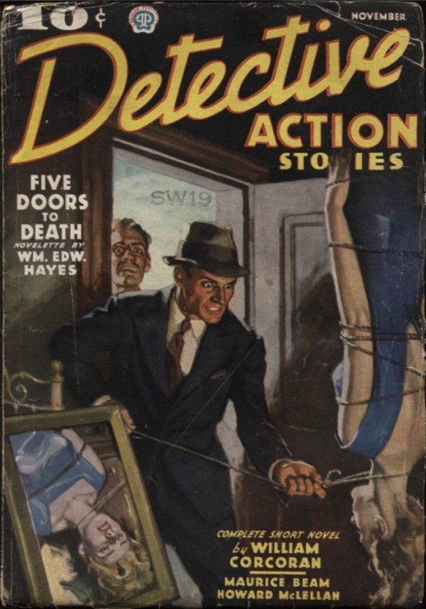 Detective Action 1936 November