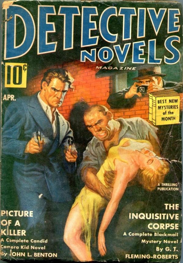 Detective Novels April 1940