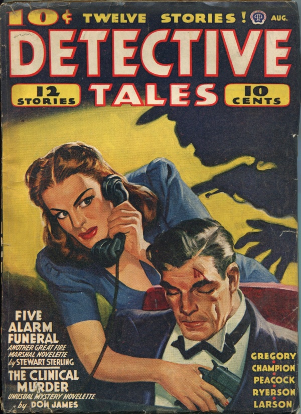Detective Tales August 1941