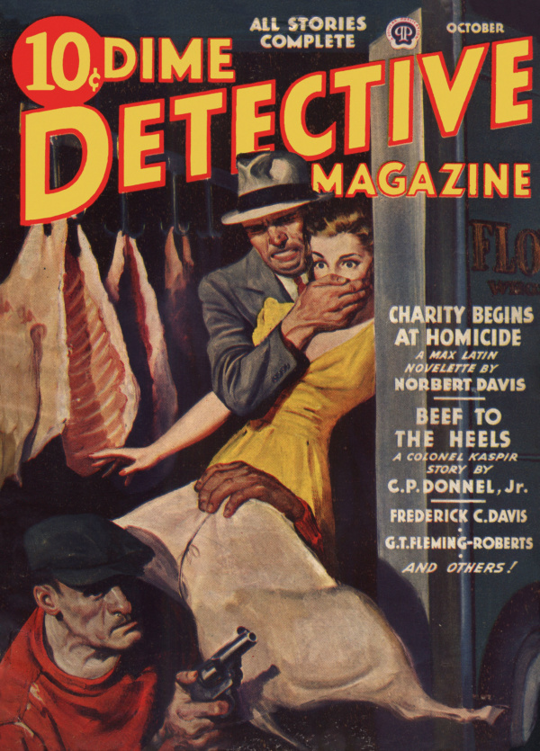 Dime Detective October 1943