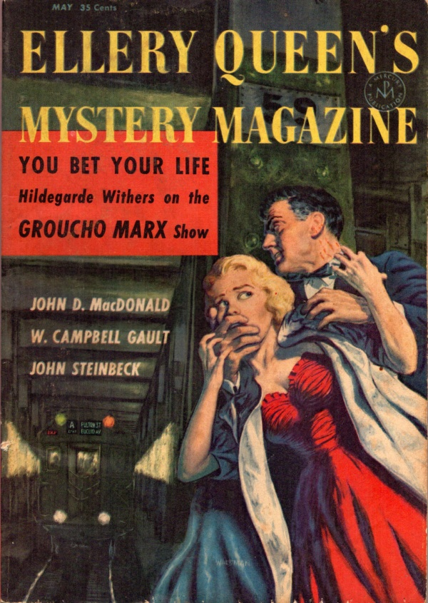 Ellery Queens Mystery Magazine May 1957