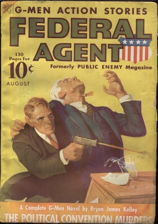 Federal Agent 1936 August