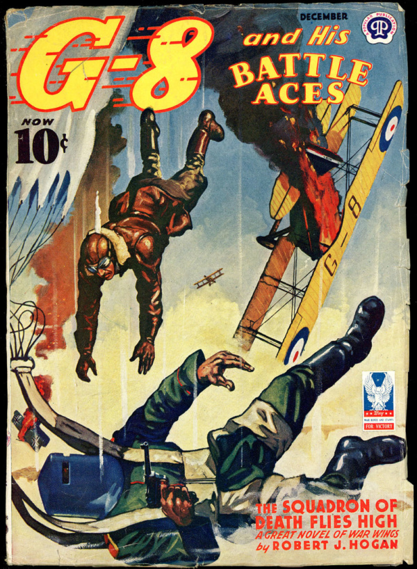 G-8 and HIS BATTLE ACES. December 1942