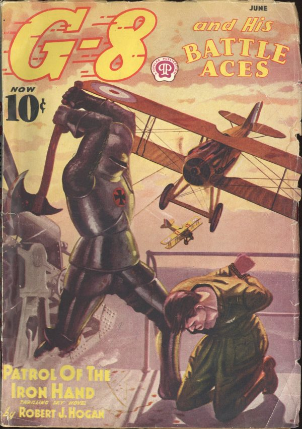 G-8 and His Battle Aces June 1938