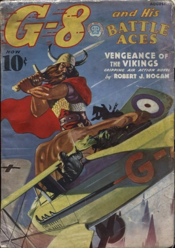 G-8 and his Battle Aces 1937 August