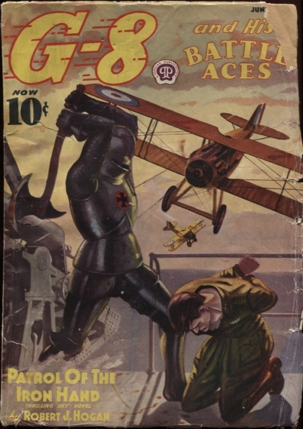 G-8 and his Battle Aces 1938 June