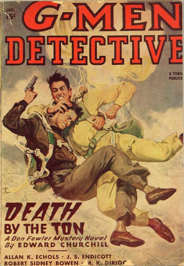 G-Men Detective magazine, January, 1948