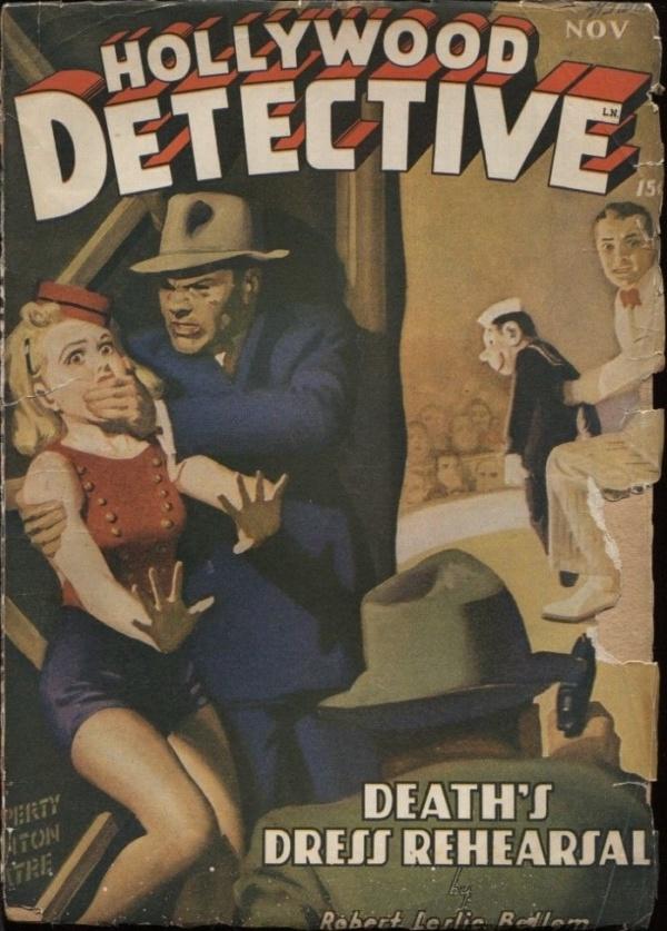 Hollywood Detective 1943 November
