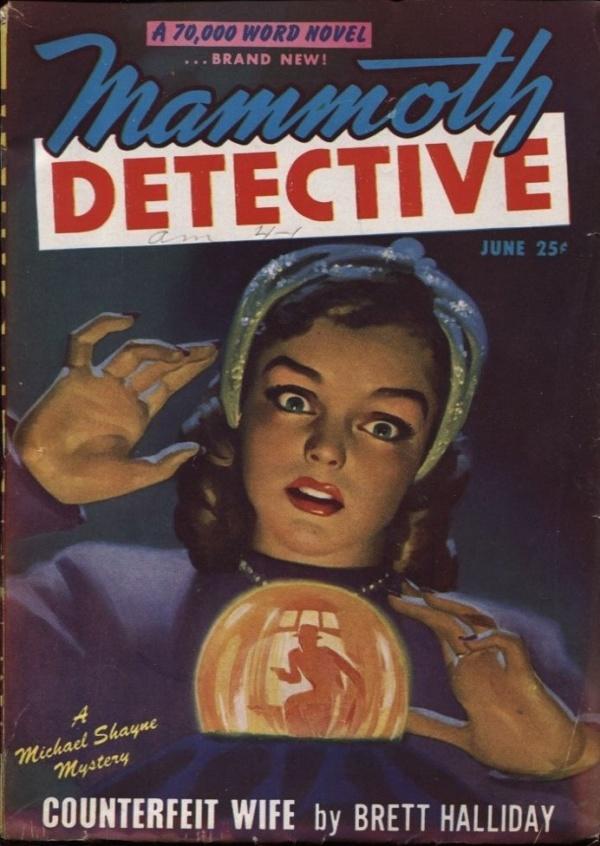 Mammoth Detective 1947 June
