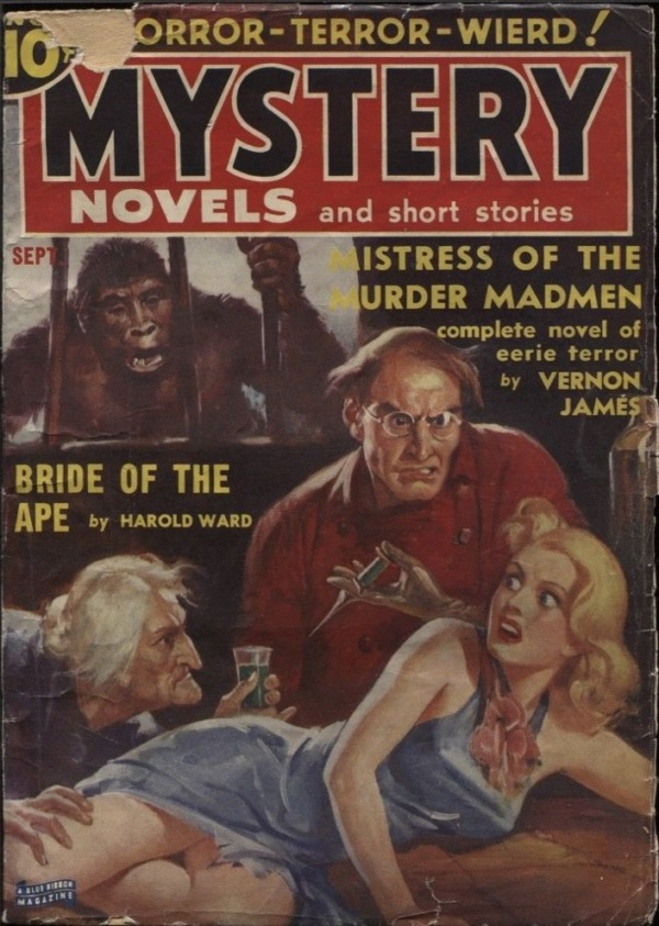 Mystery Novels and Short Stories 1939 September