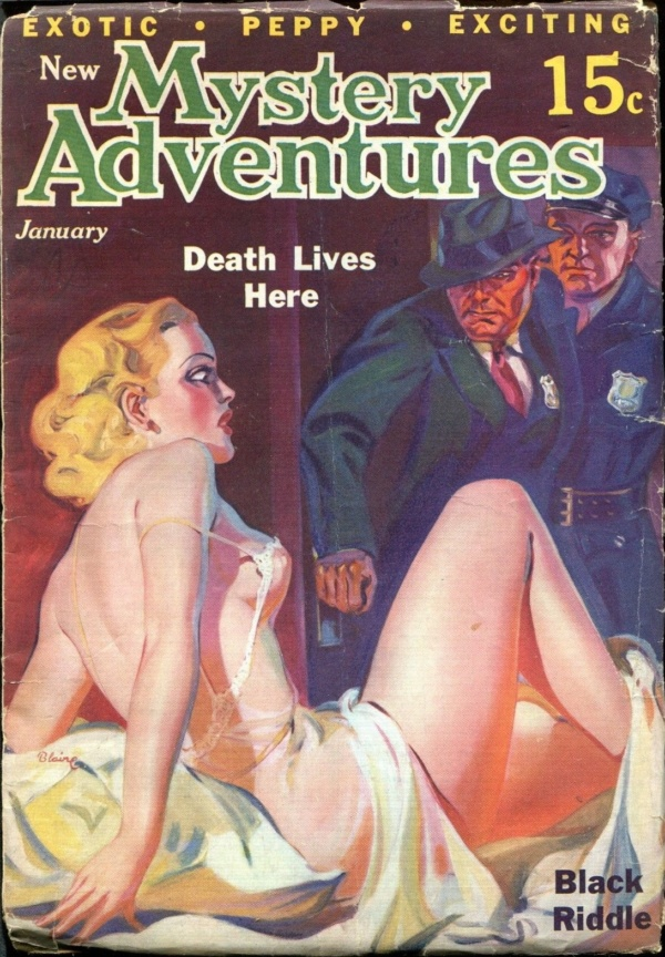 New Mystery Adventures. 1936 January