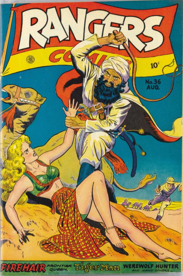Rangers Comics #36 1947