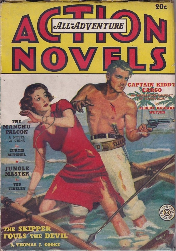 All-Adventure Action Novels Spring 1938