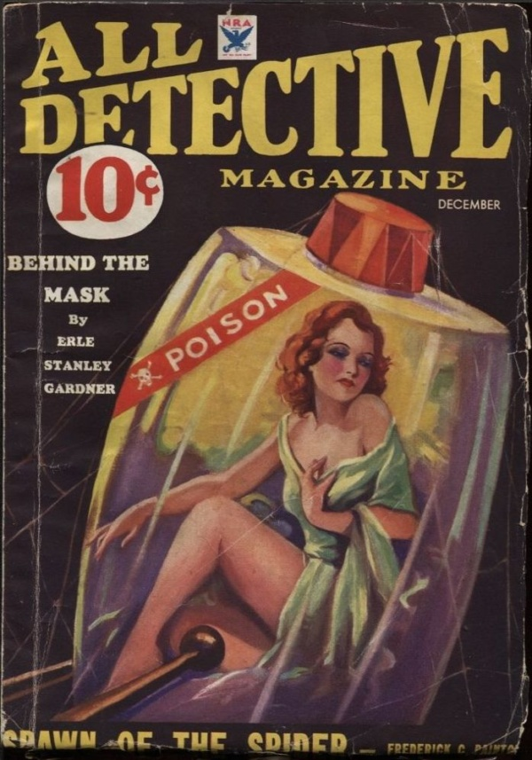 All Detective 1933 December
