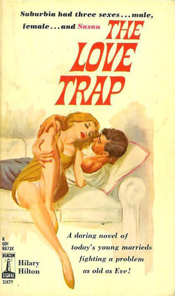 Beacon Books B673 - Hilary Hilton - The Love Trap
