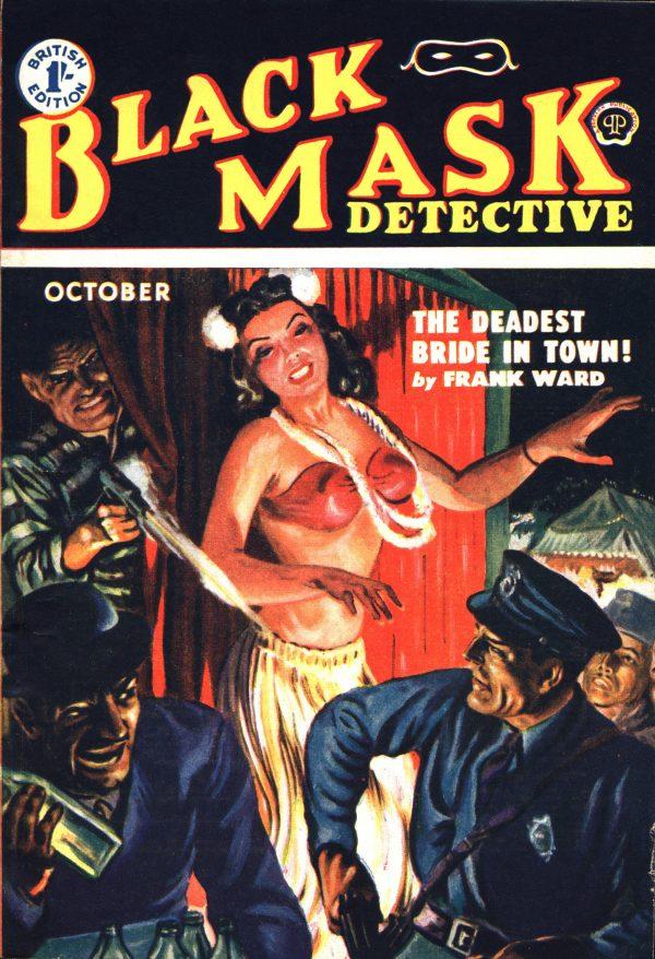 Black Mask Detective (UK) October 1952