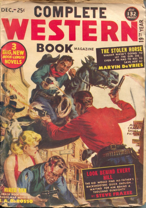 Complete Western Book December 1952