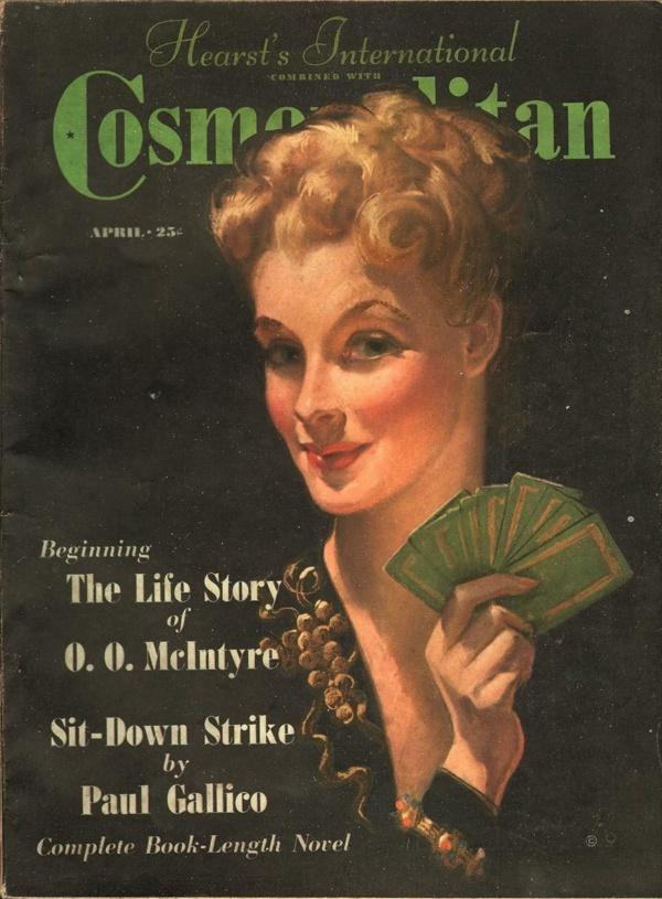 Cosmopolitan April 1938