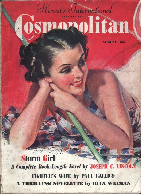 Cosmopolitan August 1937