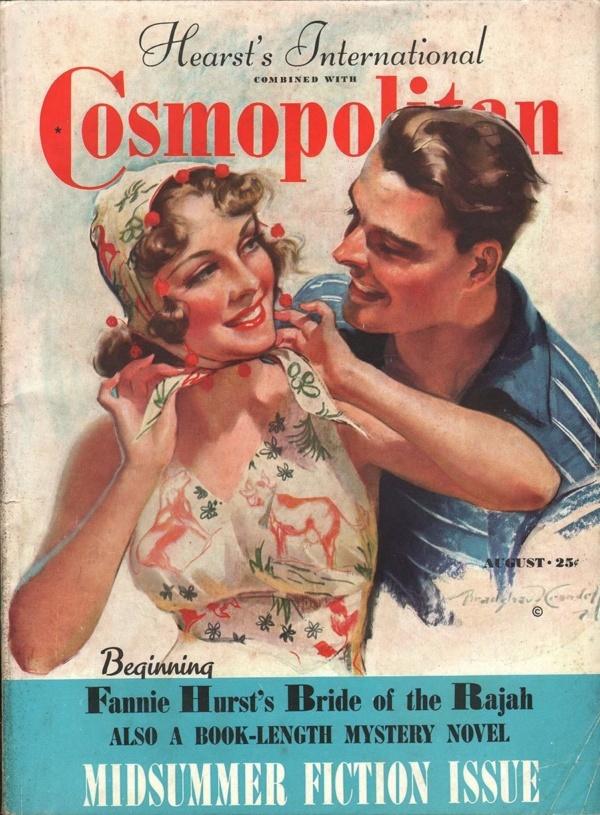 Cosmopolitan August 1938