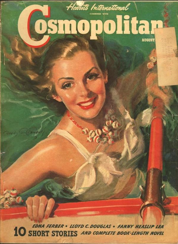 Cosmopolitan August 1940