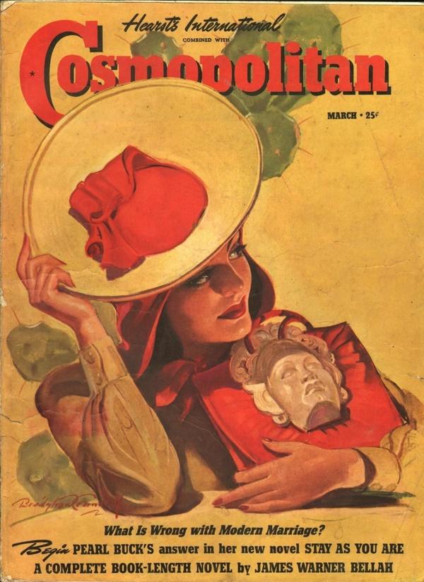Cosmopolitan March 1940