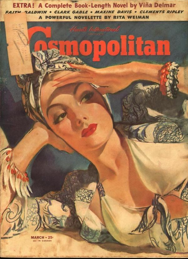 Cosmopolitan March 1941