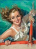 Cosmopolitan magazine cover, August 1940 thumbnail