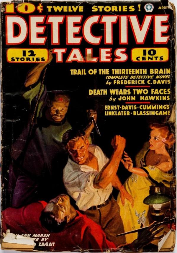 Detective Tales, April 1937