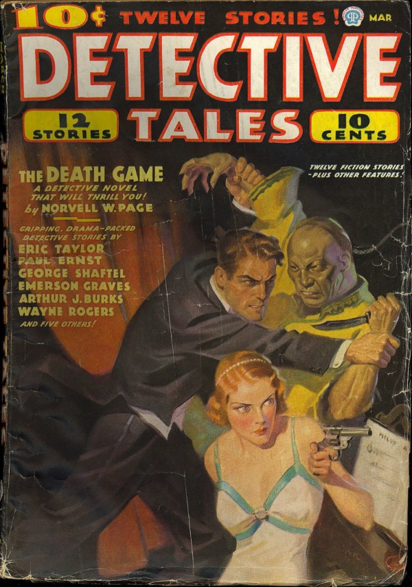 Detective Tales March, 1936