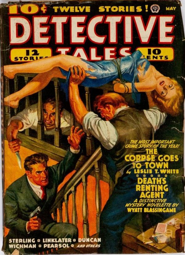 Detective Tales May 1940