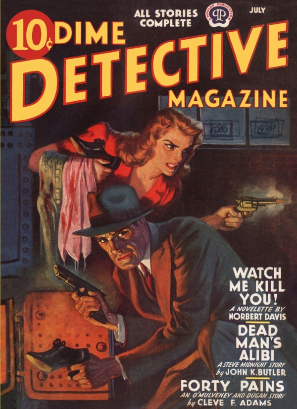 Dime Detective July 1941