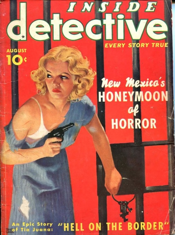 Inside Detective August 1937