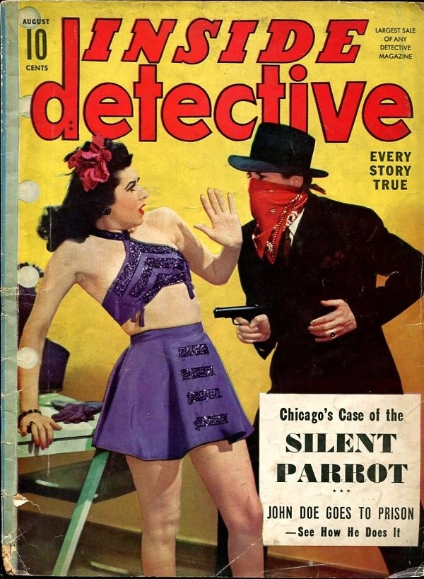 Inside Detective August 1942