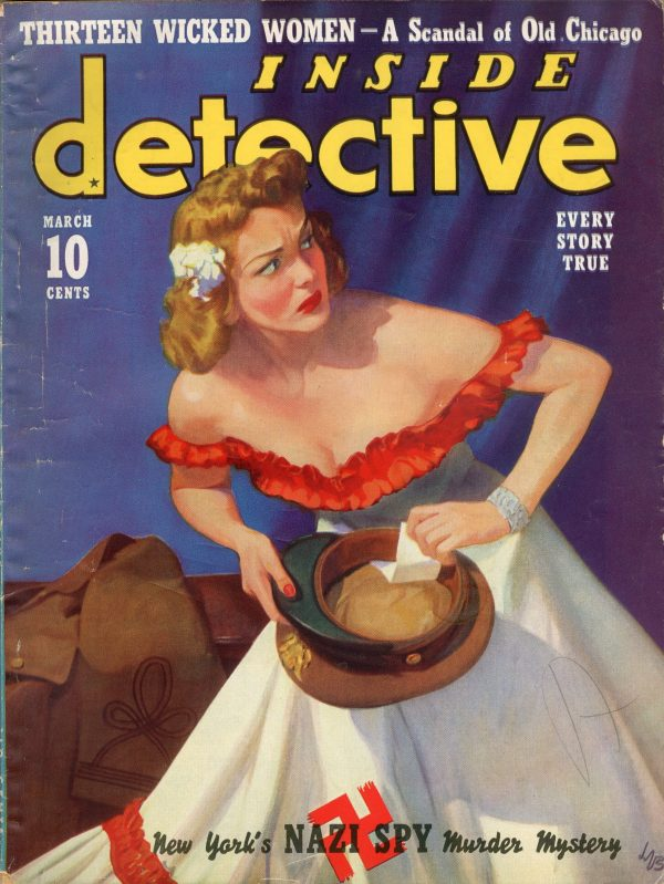 Inside Detective Magazine March 1940