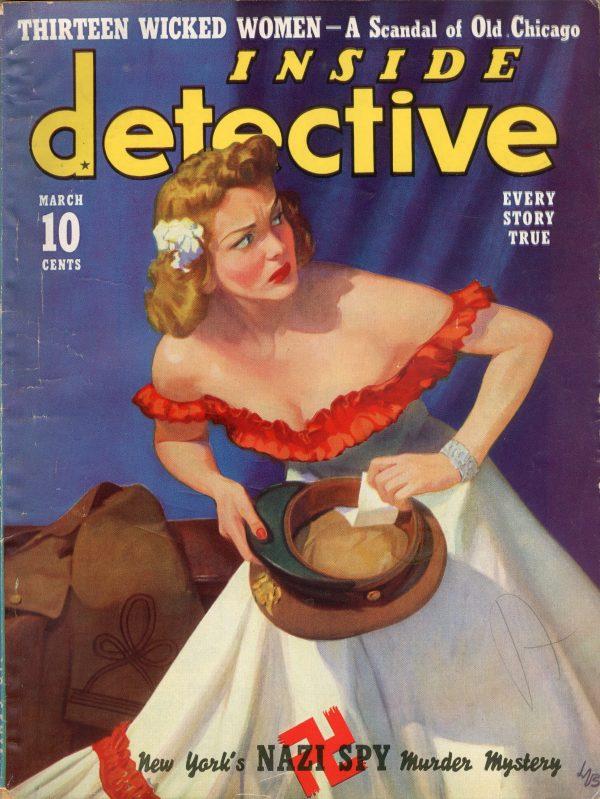 Inside Detective Magazine March 1940