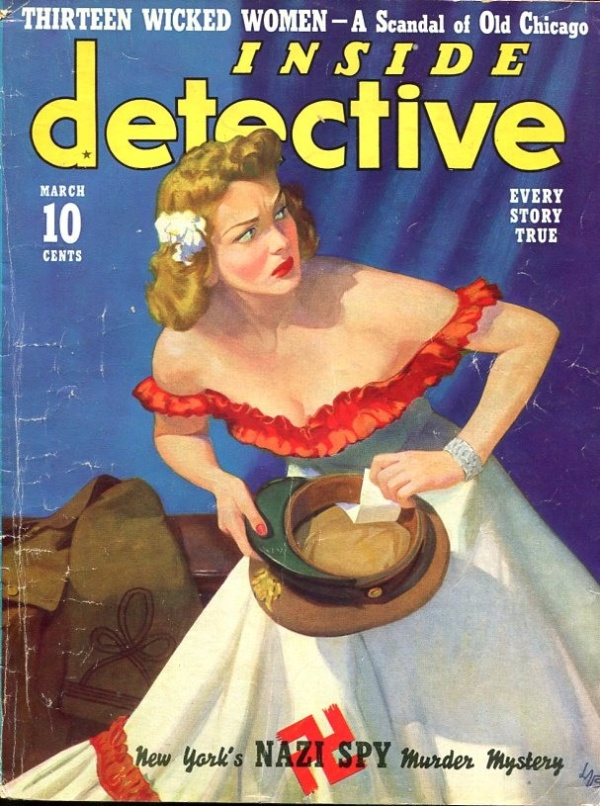 Inside Detective March 1940