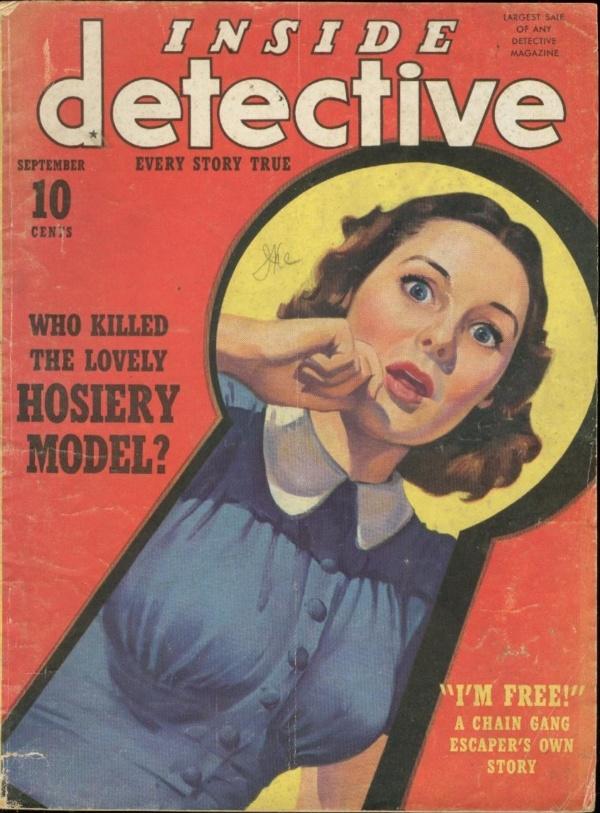 Inside Detective September 1940